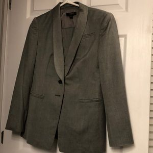 Grey blazer and pants